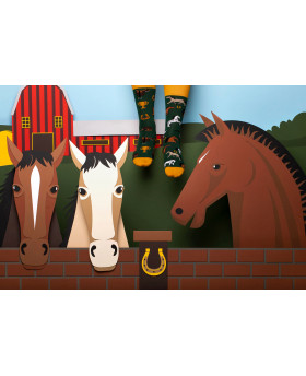 Chaussettes Chevaux - Many Mornings