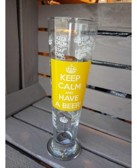Verre à bière - Keep Calm