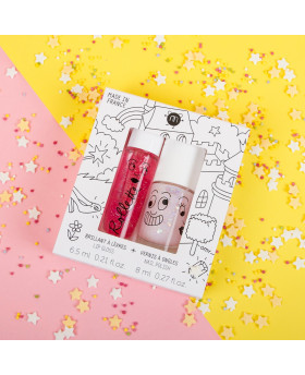 Coffret duo roll + vernis FAIRYTALES - Nailmatic