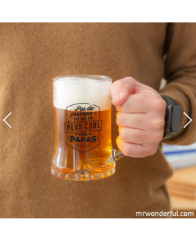 Chope de bière Papa - MrWonderful