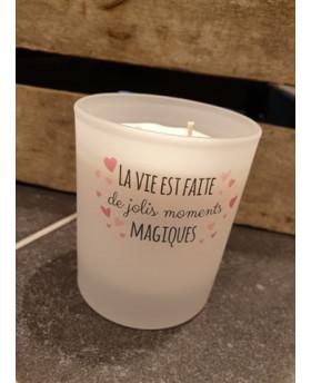 Bougie parfumée La vie est...