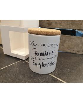 Bougie parfumée Les mamans formidables - Pompom by Lou