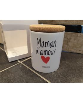 Bougie parfumée Maman d'amour - Pompom by Lou