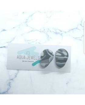 Puces ND 011 - Aqua Jewels