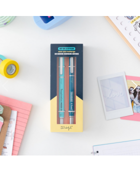 Set de 2 stylos Bonne...