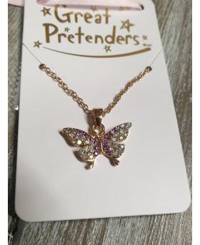 Collier Papillon - Great Pretenders