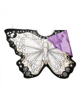 Cape à colorier Papillon -...