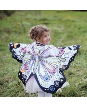 Cape à colorier Papillon - Great Pretenders