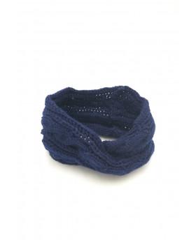 Bandeau croisé - Bleu