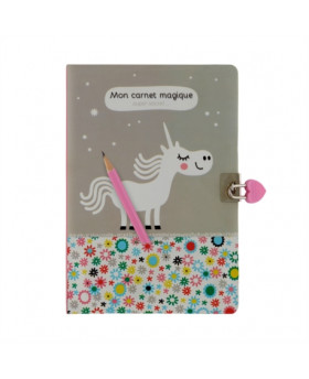 Carnet secret licorne - DLP