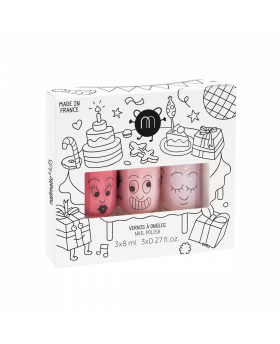 Coffret 3 vernis PARTY -...