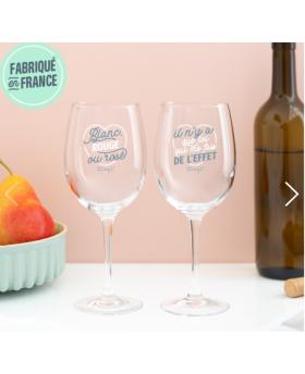 Set 2 verres à vin Trinquer...