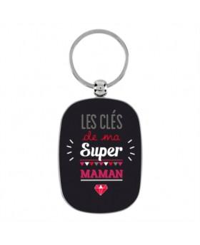 Porte-clés - Super maman - DLP