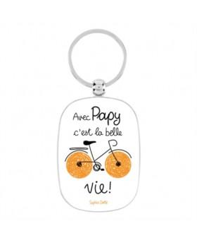Porte-clés - Avec papy - DLP