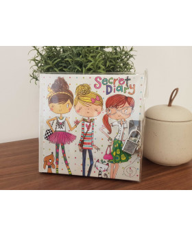 Carnet secret Filles - Kiub