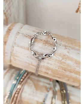 Bracelet acier Ondulé -...